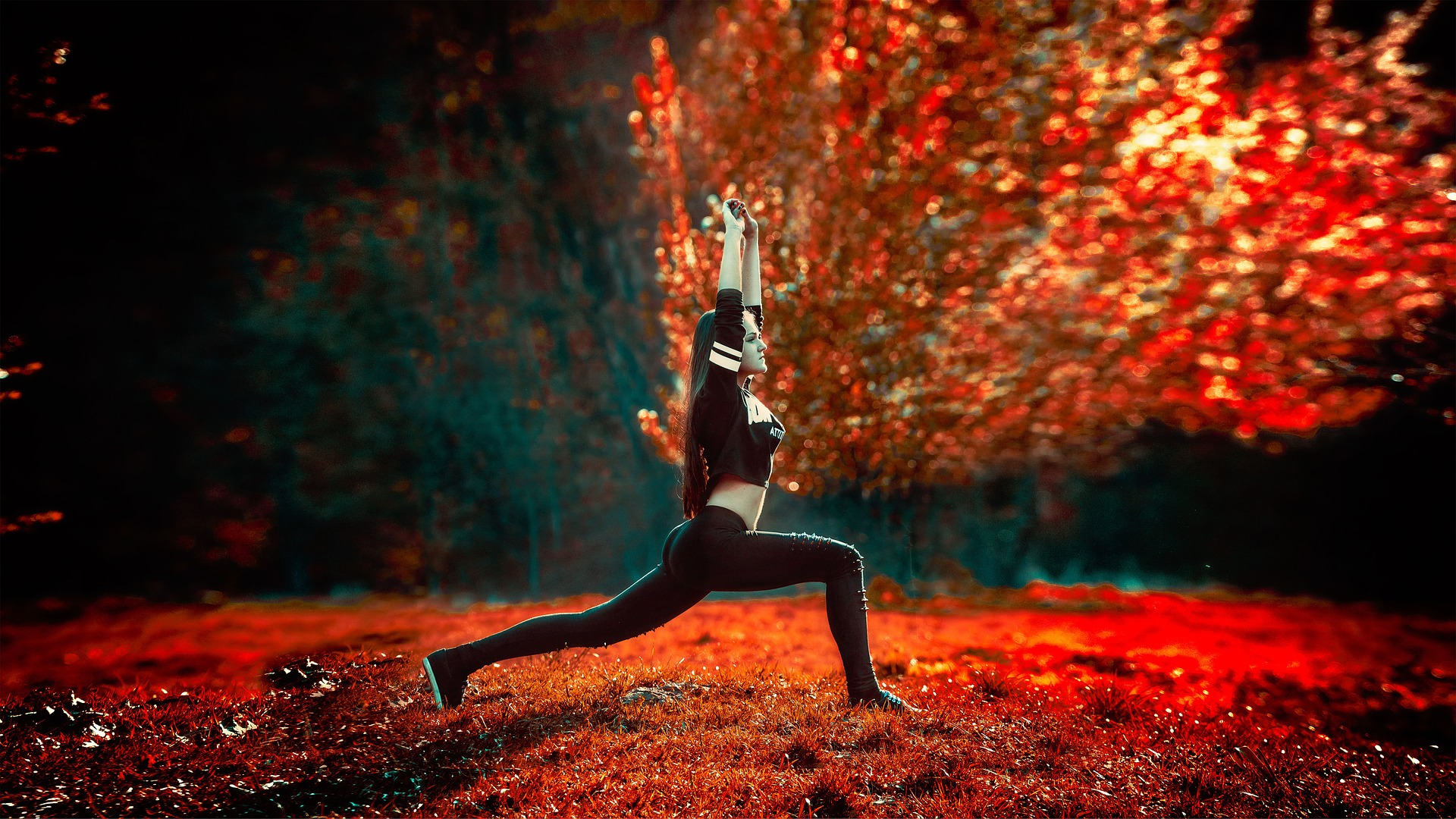 yoga, préparation mentale, athlète intérieur